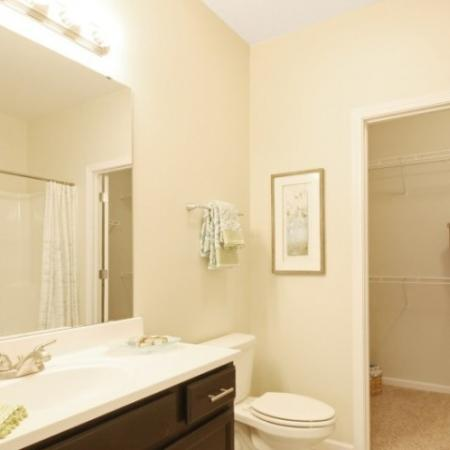 Spacious Master Bathroom | White House TN Apartments | The Standard at White House