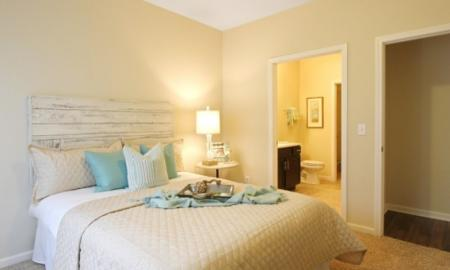 Spacious Master Bedroom | White House TN Apartments | The Standard at White House