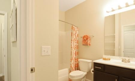 Vast Master Bathroom | White House Apartments | The Standard at White House