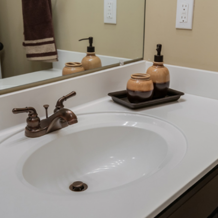 Elegant Master Bathroom | Apartments Near Nashville TN | The Standard at White House