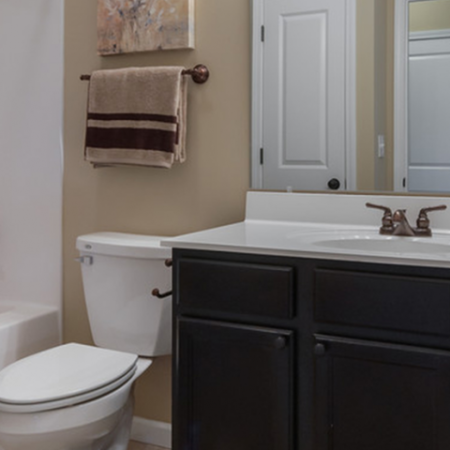 Luxurious Master Bathroom | Apartments In White House TN | The Standard at White House