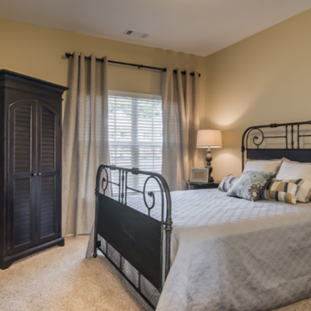 Elegant Bedroom | Apartments Near Nashville TN | The Standard at White House