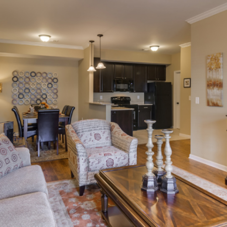 Spacious Living Area | White House TN Apartments | The Standard at White House