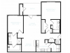 Floor Plan 2 | White House Apartments | The Standard at White House