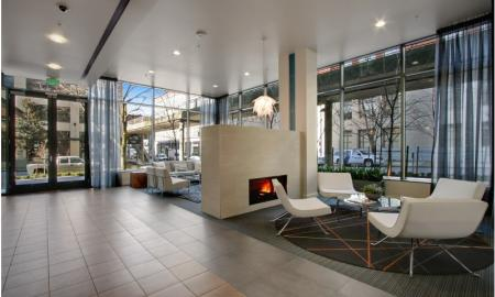 Interior Lobby | Seattle Luxury Apartments | The Post 3