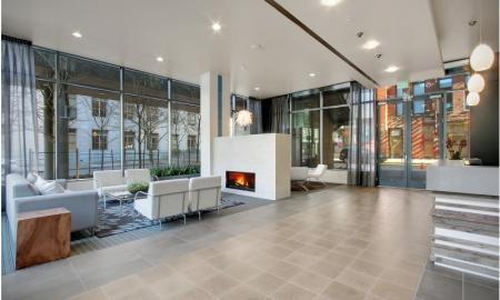 Interior Lobby | Seattle Luxury Apartments | The Post 4