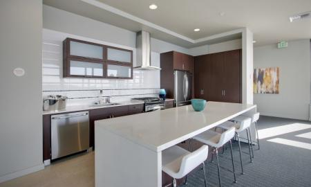 Ornate Club House | Seattle Luxury Apartments Downtown | The Post 2