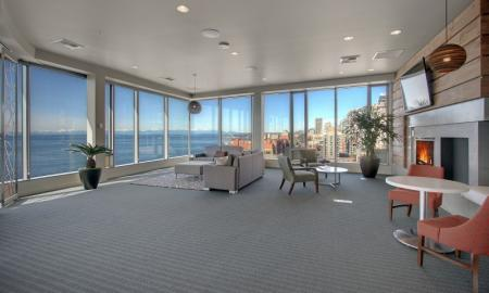 Spacious Community Club House | Apartments In Seattle | The Post 3