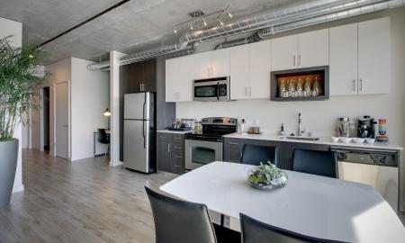 Spacious Kitchen | Apartments In Seattle | The Post