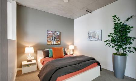 Elegant Bedroom | Apartment For Rent In Seattle WA | The Post