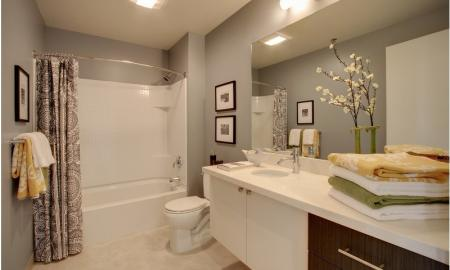 Spacious Bathroom | Apartment For Rent In Seattle WA | The Post