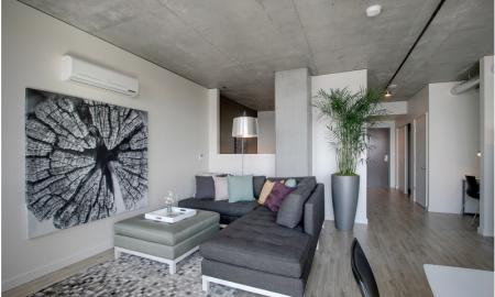 Elegant Living Room | Apartments In Seattle | The Post