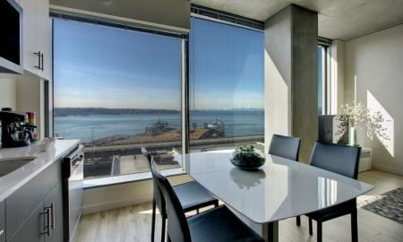 Spacious Dining Room | Seattle Luxury Apartments Downtown | The Post 2