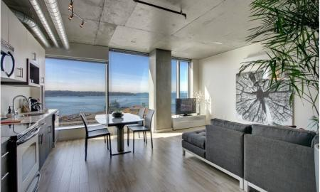 Luxurious Living Room | Seattle Luxury Apartments | The Post