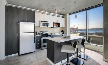 Modern Kitchen | Apartment For Rent In Seattle WA | The Post
