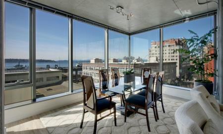 Elegant Dining Room | Apartments In Seattle | The Post