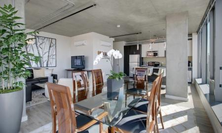 Spacious Dining Room | Seattle Luxury Apartments Downtown | The Post