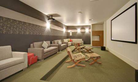 Resident Media Room | Luxury Apartments In Seattle Washington | The Post