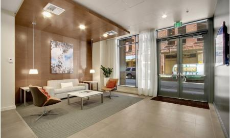 Interior Lobby | Seattle Luxury Apartments | The Post 2
