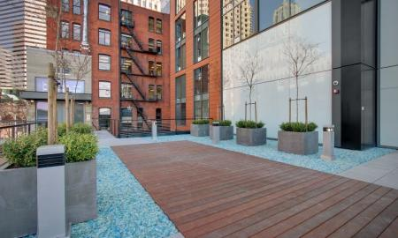 Beautifully Landscaped Grounds | Luxury Apartments In Seattle Washington | The Post