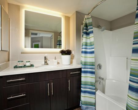 Spacious Bathroom | Apartment In Santa Monica | AO Santa Monica