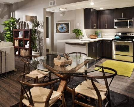 Spacious Dining Room | Santa Monica Luxury Apartments | AO Santa Monica