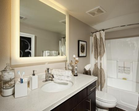 Ornate Bathroom | Santa Monica Luxury Apartments | AO Santa Monica