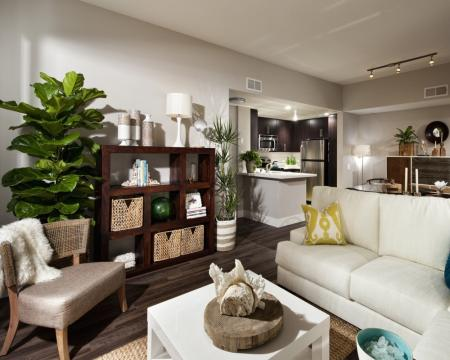 Spacious Living Room | Santa Monica Luxury Apartments | AO Santa Monica