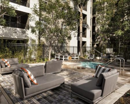 Resort Style Pool | Santa Monica Luxury Apartments | AO Santa Monica 2