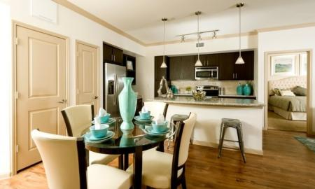 Spacious Dining Room | Apartments In Houston | Valencia Place