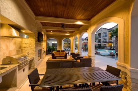 Resident BBQ | Apartments In Houston | Valencia Place