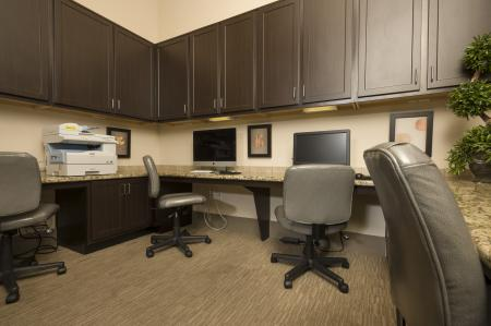 Resident Business Center | Apt For Rent Houston | Valencia Place
