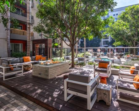 Resident Sun Deck | Apartment In Santa Monica | AO Santa Monica 2