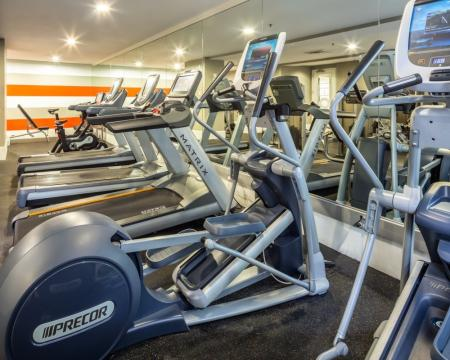 Resident Fitness Center | Apartment In Santa Monica | AO Santa Monica 2