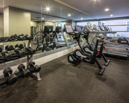 Community Fitness Center | Santa Monica Luxury Apartments | AO Santa Monica 2