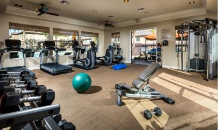State of the Art Fitness Center | Apartments Santa Clarita CA | Townhomes at Lost Canyon