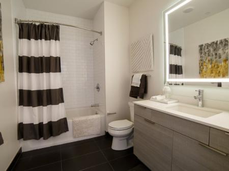 Elegant Master Bathroom | Apartment In Somerville MA | Montaje