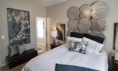 Residents in the Bathroom | Luxury Apartments In McDonough GA | Amber Chase