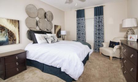 Ornate Bathroom | Apartments In McDonough | Amber Chase