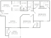 Floor Plan 6 | Apartments In McDonough | Amber Chase 1