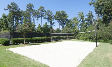 Fenced-in Courtyard | Luxury Apartments In McDonough GA | Amber Chase