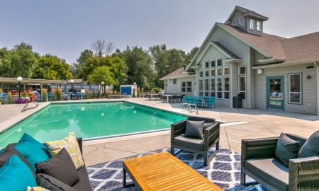 Swimming Pool | Apartments In Boise | River Pointe