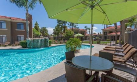 Swimming Pool | Chandler Luxury Apartments | The Ventura