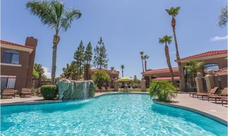 Swimming Pool 1 | Chandler Luxury Apartments | The Ventura