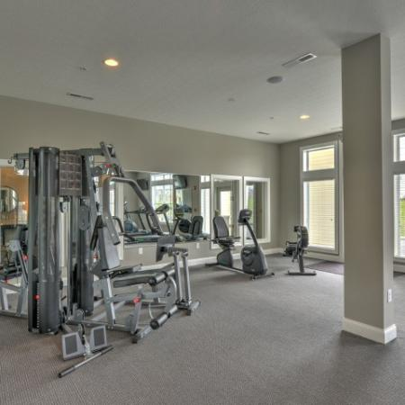 Cutting Edge Fitness Center | Apartments In Columbus Ohio | The Attleigh