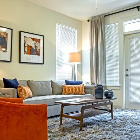 Luxurious Living Area | Apartments In Lake Charles Louisiana | Watervue