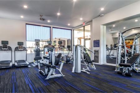 Cutting Edge Fitness Center | Chandler Arizona Apartments | The Cooper 202
