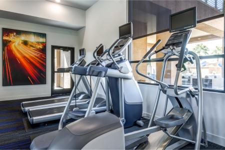 Resident Fitness Center | Apartment Homes In Chandler | The Cooper 202