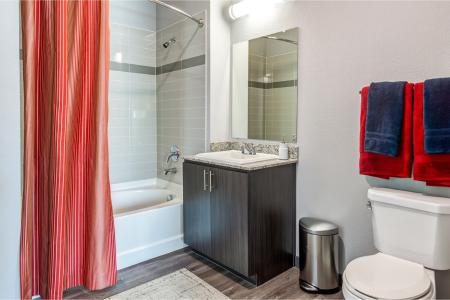 Spacious Bathroom | Apartment Homes In Chandler | The Cooper 202