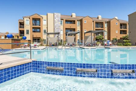Sparkling Pool | Chandler Apartments | The Cooper 202